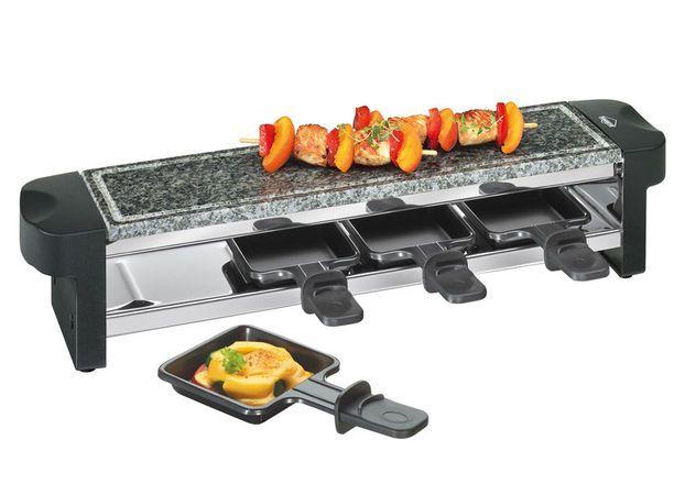 Küchenprofi Raclette Hot Stone Quattro raclette de