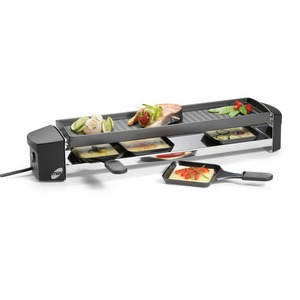 Funcooking - Stöckli CheeseMax4 Raclette Grill  - Onlineshop Raclette