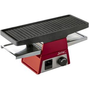 Spring Raclette 2 Basismodul rot Raclette Grill