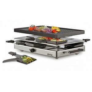 Spring – Raclette 8 Inox Classic Grill