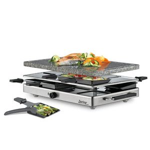 Spring – Raclette 8 Classic Inox mit Granit-Stein