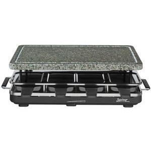 Spring Raclette 8 Stone schwarz