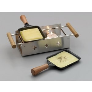 Funcooking - TTM Twiny Cheese Inox  - Onlineshop Raclette