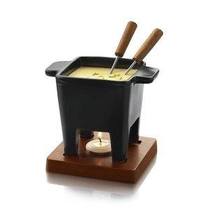 Funcooking - Boska Cheese Fondue 2 schwarz  - Onlineshop Raclette
