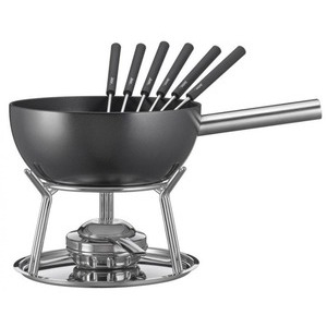 Funcooking - Spring Käsefondue Garnitur Alu Induktion schwarz  - Onlineshop Raclette