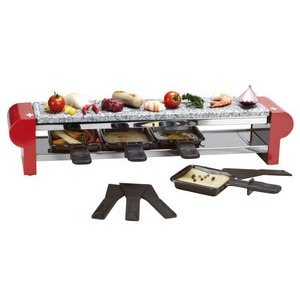 Funcooking - Nouvel 4er Raclette Stone Swiss Edition  - Onlineshop Raclette