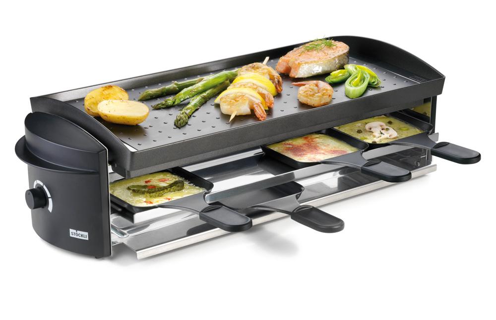 st ckli cheeseboard v8 raclette grill. Black Bedroom Furniture Sets. Home Design Ideas