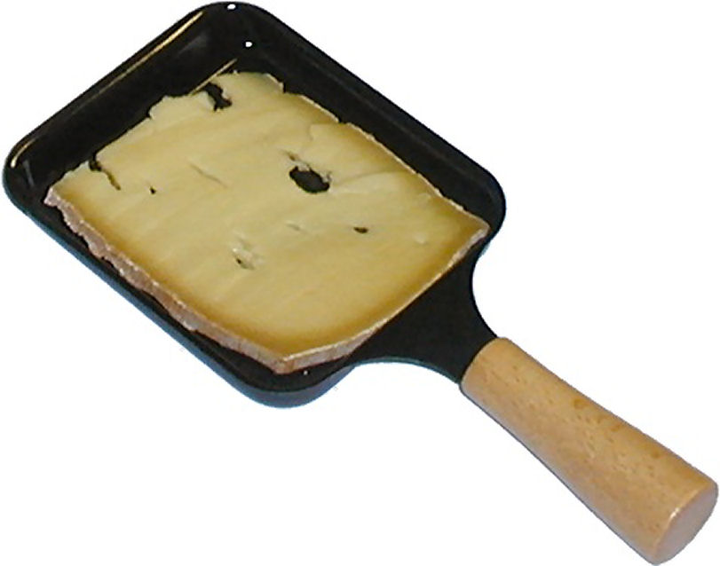 Nouvell Raclettepfännchen Antihaft 2 Stück