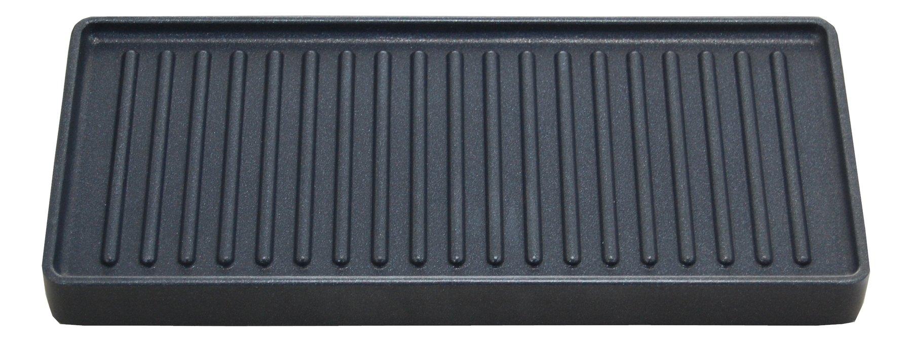 spring alu grillplatte f r raclette 2 compact. Black Bedroom Furniture Sets. Home Design Ideas