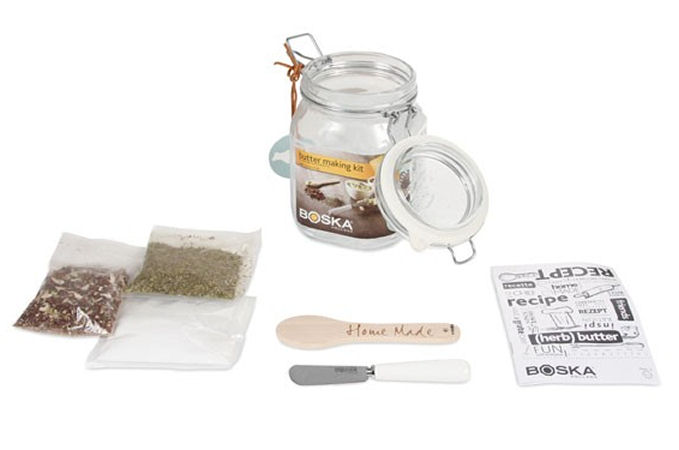 boska butter set zum selber machen. Black Bedroom Furniture Sets. Home Design Ideas