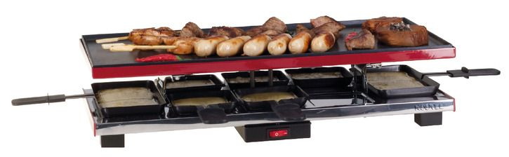 Nouvel Deluxe 8 Raclette-Grill
