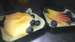 Birnen-Heidelbeer-Cracker-ungebacken
