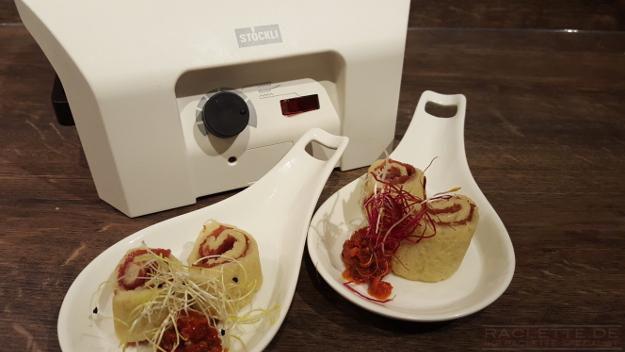 bier cr pes von b ndnerfleisch und parmesan chefkoch raclette rezepte. Black Bedroom Furniture Sets. Home Design Ideas