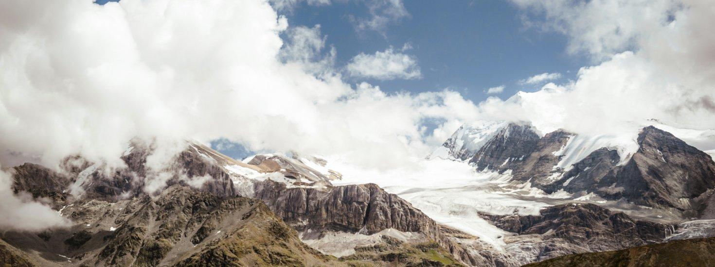 Die Berge des Wallis