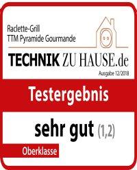 TTM Pyramide Gourmande - Test-Urteil: sehr gut